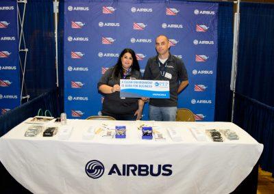 Jennifer Denson - Airbus Booth1