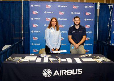 Jennifer Denson - Airbus Booth2