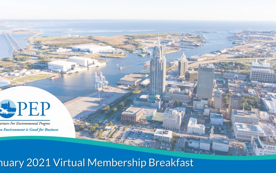 PEP Hosts January 2021 Virtual Membership Breakfast