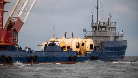 Reef deployment in Alabama